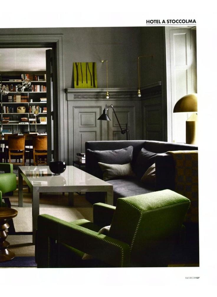 ELLE DECOR ITALY   Utrecht, Design Gerrit Thomas Rietveld
