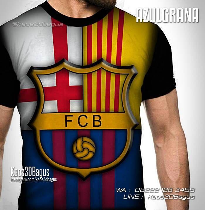 Kaos Barcelona Logo, Azulgrana, Kaos Barca, Kaos 3D Barcelona, Kaos Barcelona Fans Indonesia, Kaos Indo Barca, Kaos Futsal, WA : 08222 128 3456, LINE : Kaos3DBagus, https://kaos3dbagus.wordpress.com/2016/01/09/kaos-3d-barcelona-kaos-barca-3-dimensi-kaos-3d-bola/