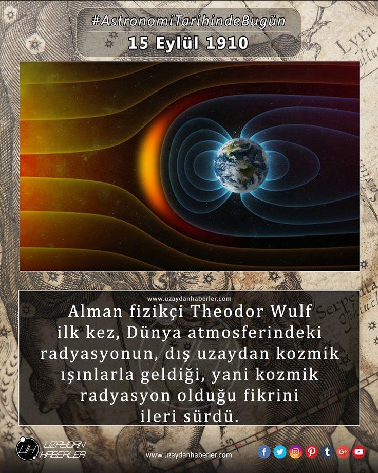 Astronomi Tarihinde Bugün 15 Eylül Detaylar için görsele tıklayınız