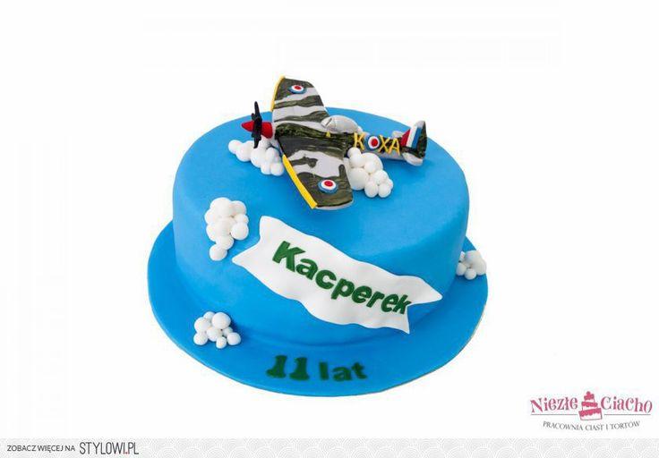 Samolot, tort dla lotnika, tort dla chłopca, tort dla miłośnika samolotów, lot samolotem, tort urodzinowy, urodziny dziecka, Tarnów