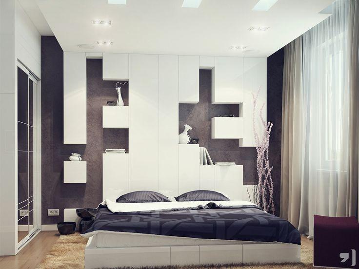 Headboard Storage Bedroom