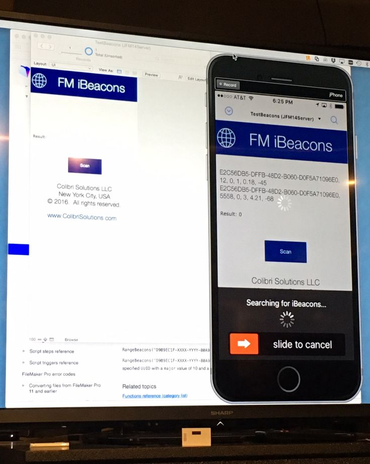 FileMaker and iBeacons: The Proximity Effect + Free Demo Download