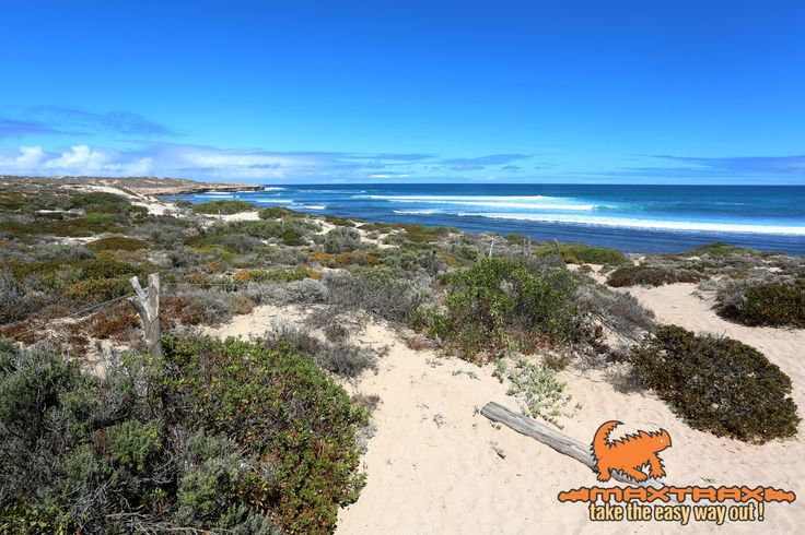 Cactus Beach on the far west coast of South Australia. Take the easy way out and bring your MAXTRAX!