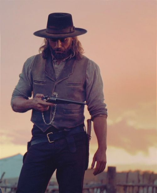 Hell on Wheels. Great show.