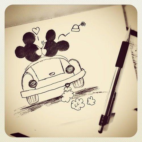 Sketch a love story.