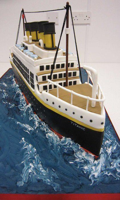 Titanic Cake so genouis