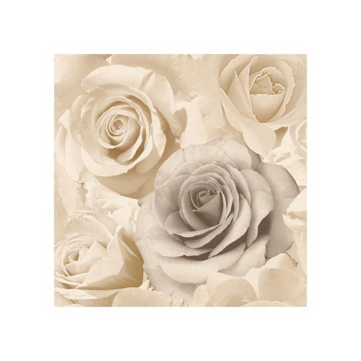 Muriva Rose Madison Wallpaper Beige (119504) - Designer Wallpaper from I love wallpaper UK