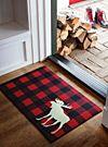 Moose hunt doormat 45 x 70cm | Simons Maison | Shop Decorative Carpets Online in Canada | Simons