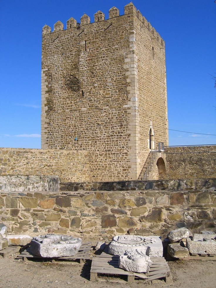 #Portugal   Ancient Mertola Castle