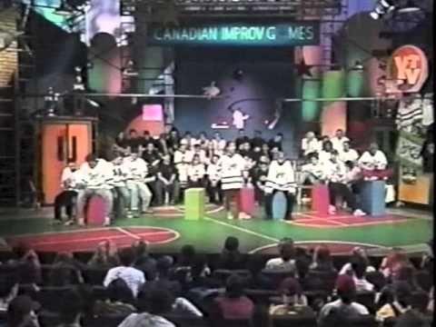 Canadian Improv Games - 1995 YTV coverage