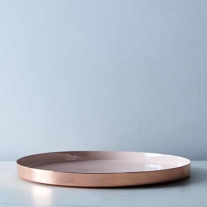 Copper And Brass Louise Trays Brass Tray