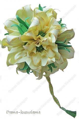 Желтые лилии2