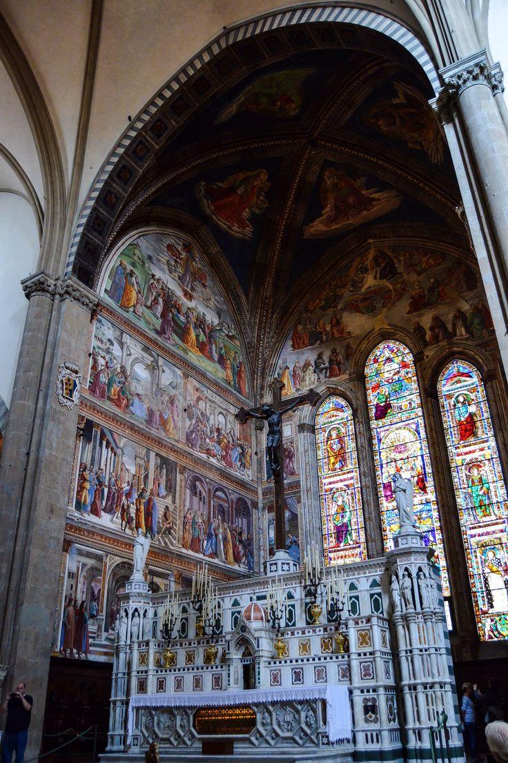 Altar de la Basilica de Santa Maria Novella (Florence - Italy)