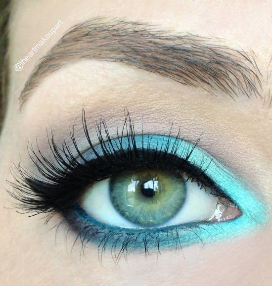 Minty fresh eye. Would look awesome with brown eyes!