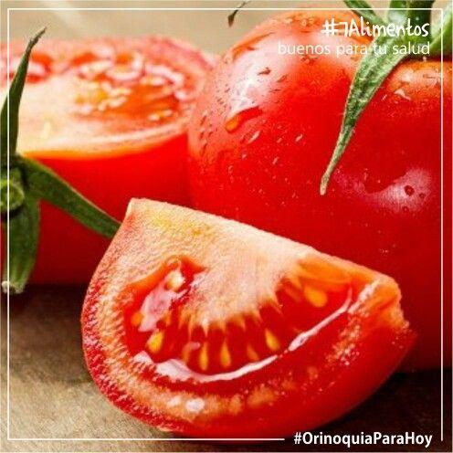 Los #tomates son ricos en #vitamina C y otros #antioxidantes.  Ayudan a prevenir problemas en el #corazón, el páncreas, los pechos y la próstata.  Algunos de los nutrientes del tomate se absorben mejor cuando se cocinan, #7Alimentos