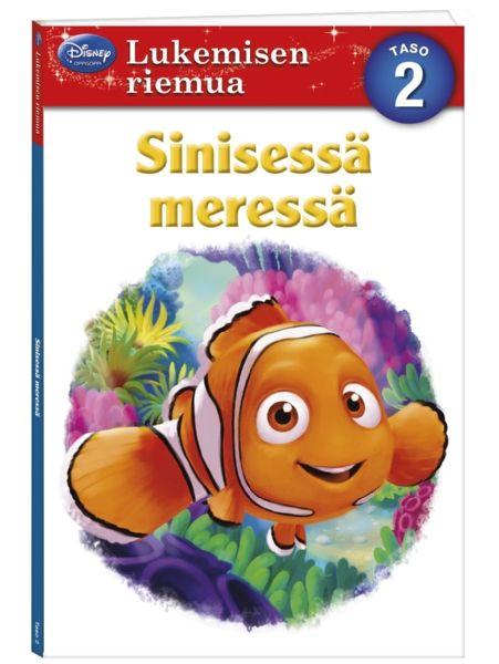 Nemoa etsimässä: Sinisessä meressä (Lukemisen riemua) Sukella suloisen Nemon kanssa vedenalaiseen maailmaan ja tutustu sen asukkeihin! Lyhyet tekstit sopivat lukemaan opetteleville, ja värikäs ja iloinen kuvitus tekee kirjan selailusta hauskaa!