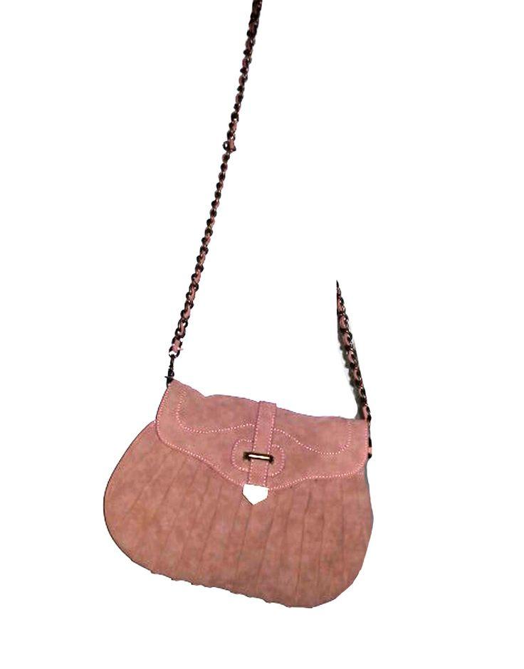 Bolso rosa bandolera 21.00€