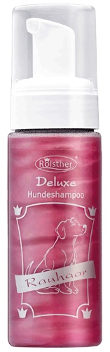 Mousse Hundeshampoo - Rauhaarr - Deluxe-Serie