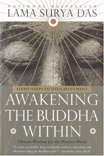 Lama Surya Das wrote a classic that helped popularize Buddhism in the West. It's often quoted & still a great introduction to the meditative core of Buddhism for ordinary people in the modern world.