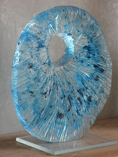 Image detail for -You are in: Home > Glasswork > Garden sculptures > glass sculpture