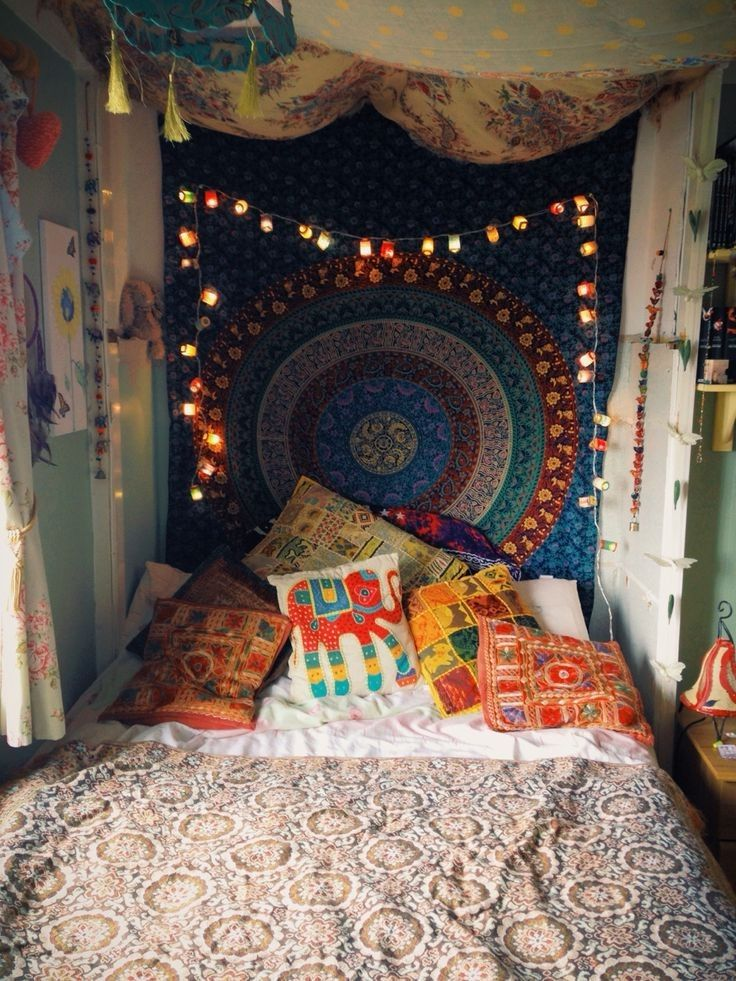 17 best images about boho beauty on pinterest boho style for Decoration chambre hippie
