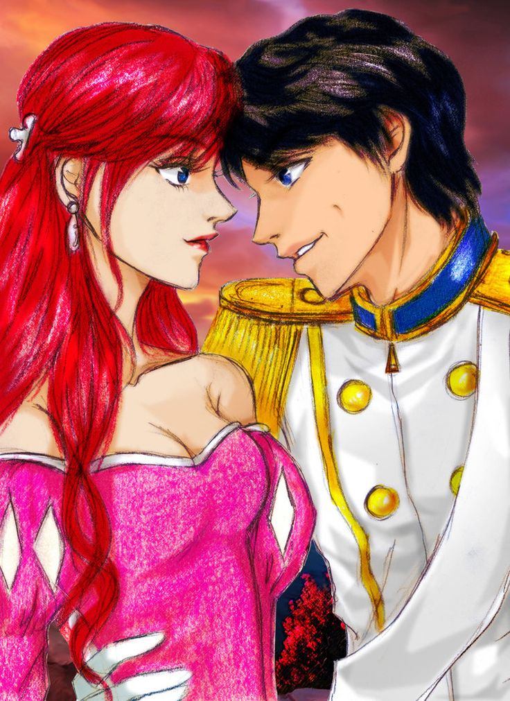 Ariel and Melody Fan Fiction Ariel and Eric Ariel and Eric