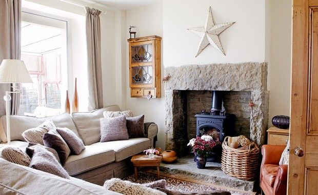 Peek inside this chic country cottage