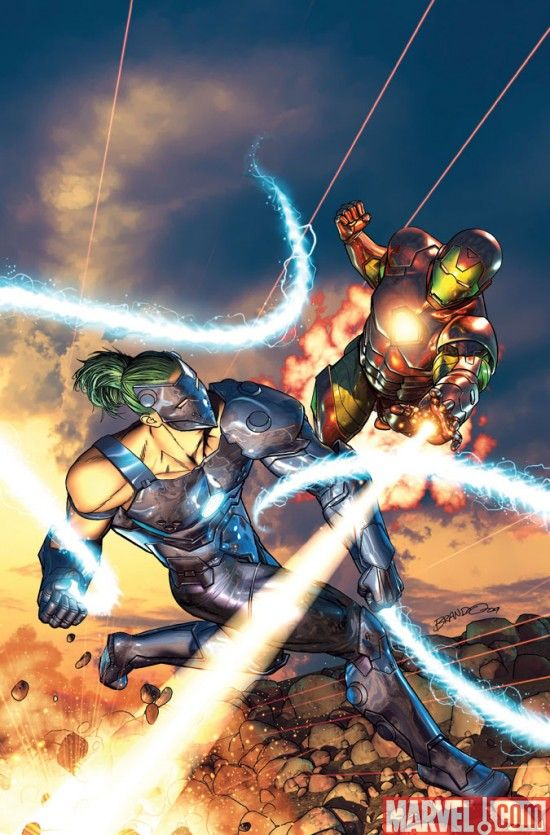 whiplash vs iron man hq