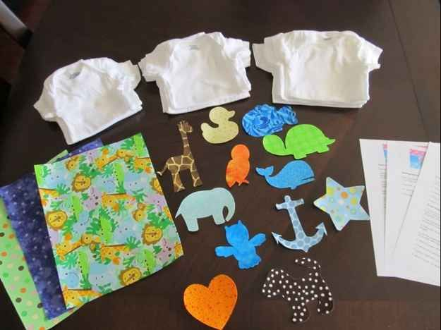 Onesie Decorating   30 Baby Shower Games That Are Actually Fun