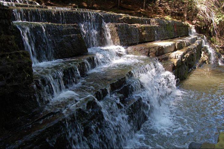Beckett Creek Waterfall near Ottawa, ON - a hiking trail