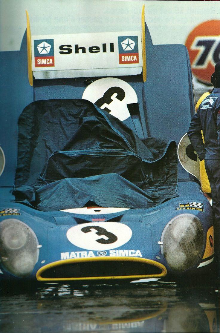 François Cevert / Jean-Pierre Beltoise / Henri Pescarolo - Matra-Simca MS670 - Équipe Matra-Simca - 24 Hours of Daytona - 1973 World Championship for Makes, round 1