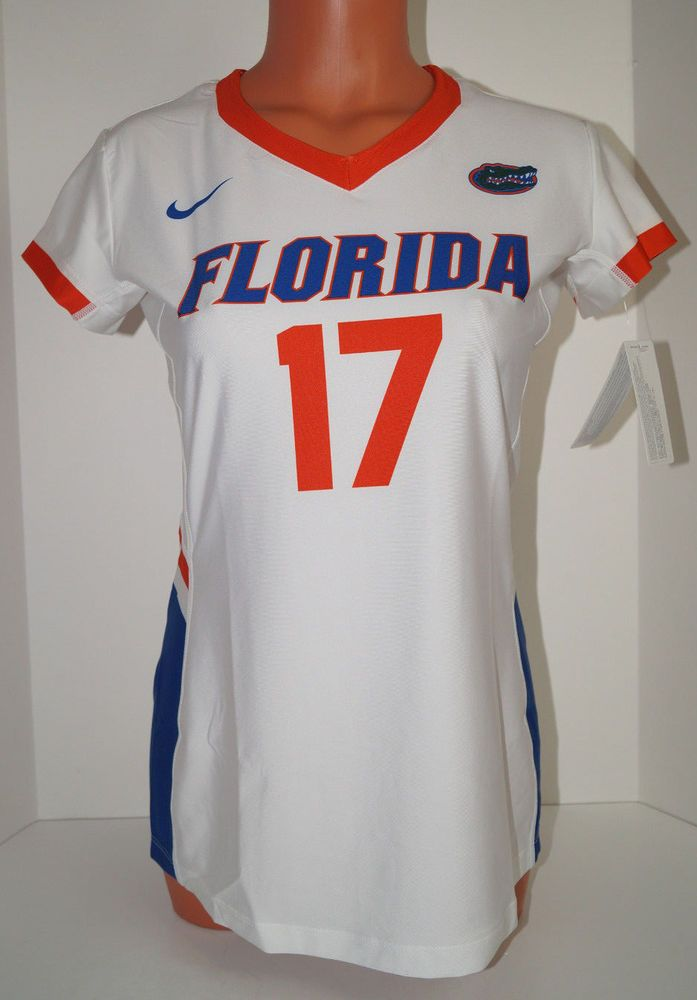 New Nike Women's M Florida Gators Hyperspace Cap Sleeve Volleyball Jersey #17  #Nike #FloridaGators