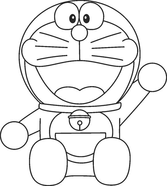 doraemon coloring pages