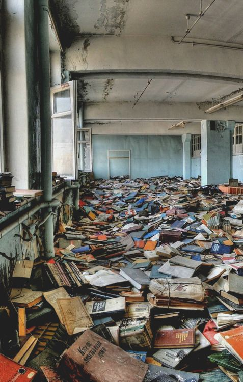 #abandoned russian library wow photography