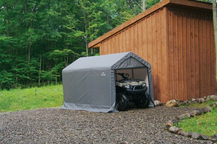 Portable Motorcycle Shelter : Best images about portable storage sheds on pinterest