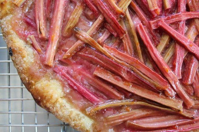 Rhubarb Tart With Orange Glaze Recipes — Dishmaps
