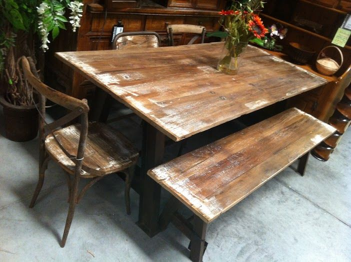best Industrial Metal  Reclaimed Wood Furniture  on