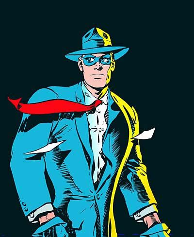 "My favourite comic book hero, Will Eisners ""the Spirit"" (I will *never* forgive Frank Miller)"