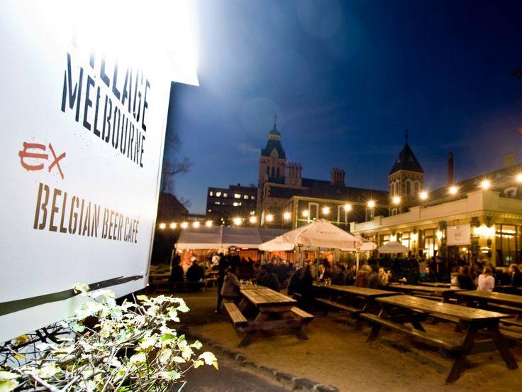 Welcome to The Garden at Village Melbourne.  #garden #beer #food #village #melbourne #outdoors
