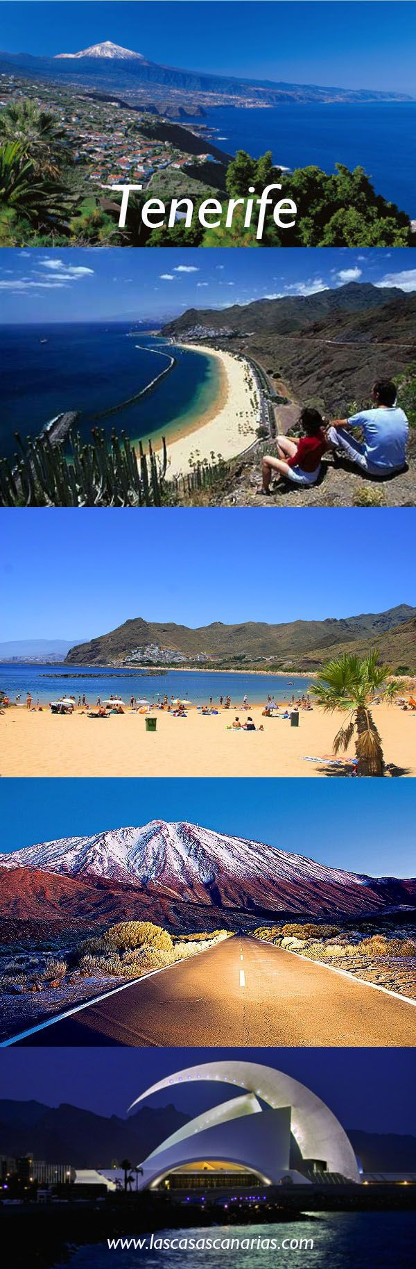 The beautiful island of Tenerife, Canary Islands