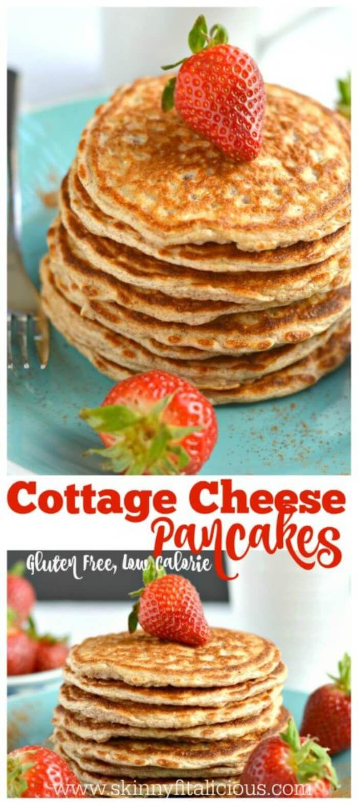 Pumpkin Protein Waffles Cottage Cheese