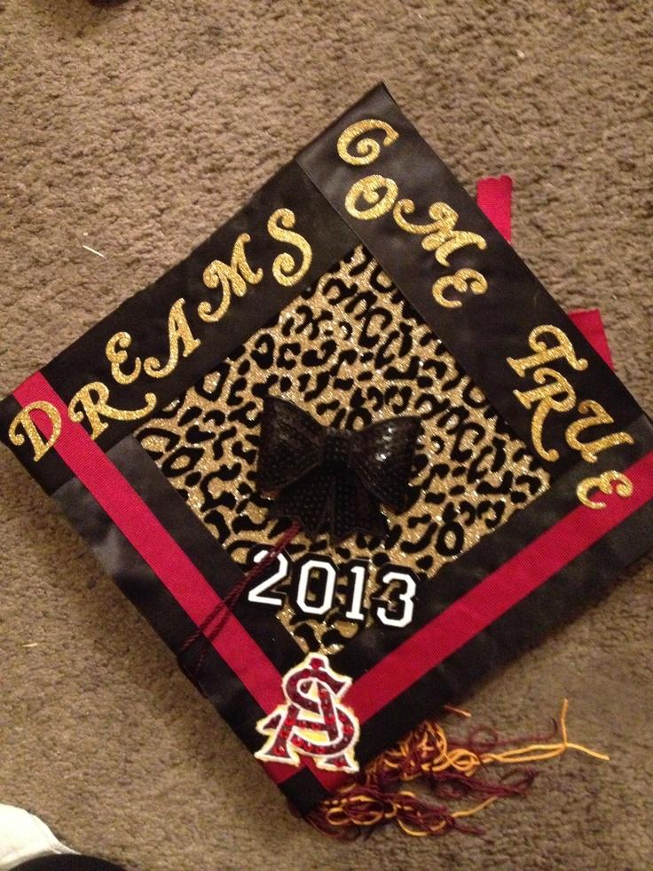 Arizona State University graduation cap design | Cap Ideas ...