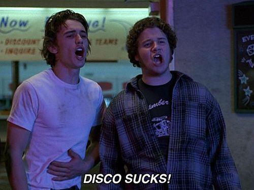 James Franco & Seth Rogan in Freaks and Geeks….basically my friends and I in high school. lol
