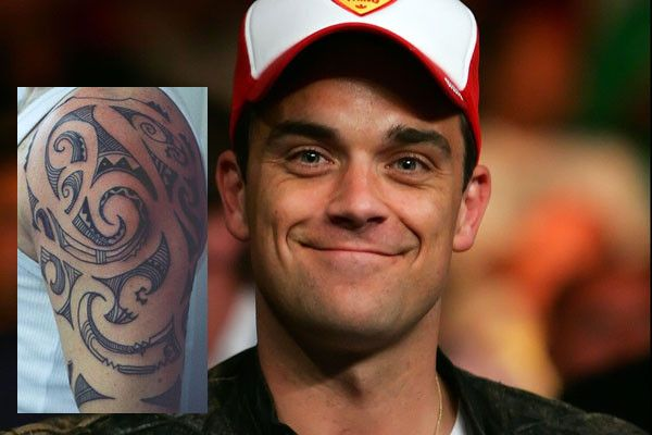Robbie Williams Maori Tattoo Design: Ink, Maori Tattoos And Boys