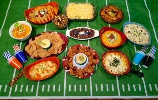 Top Ten Big Game Party Dips