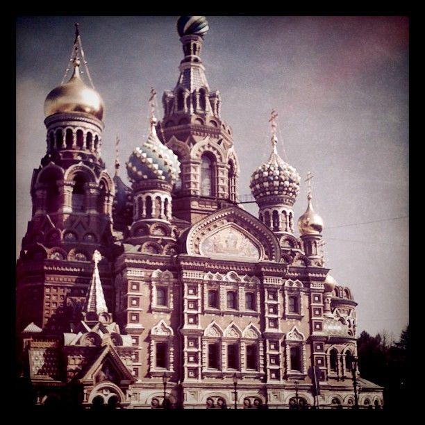 La cattedrale del sangue versato. San Pietroburgo