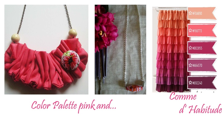color palette pink