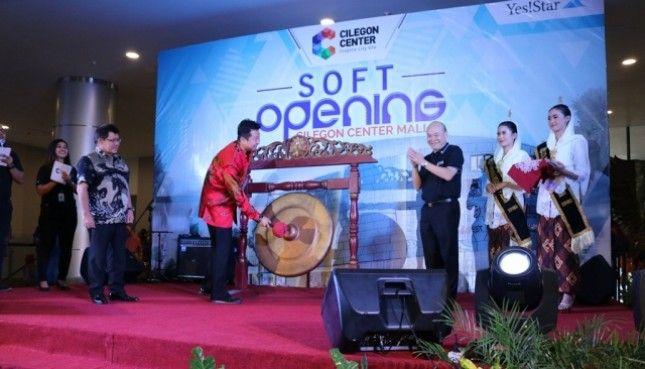 Perusahaan Pengembang Pt Yestar Karya Utama Yestarland Menggelara Cara Soft Opening Cilegon Center Mall Ccm Sebuah Pusat Perbelanjaan Modern Dan Te Industri