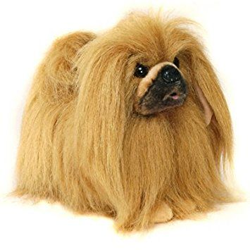 Pékinois chien debout en peluche 22,9cm haute par Hansa