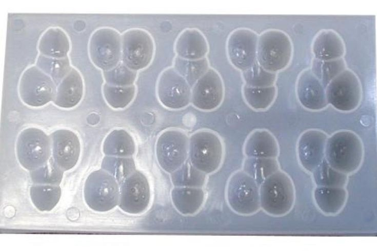 Golden Triangle Little Dicky - Ice Tray - Fun and erotic ice molds guaranteed to liven up your lemonade. Guaranteed to put a cock in cocktails and make sure every drink is hard liquor. Use them at your next bachelor party to add some sexy boobie ice-cubes to your party guests drinks!
